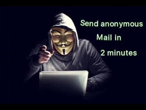 send anonymous mails