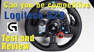 Logitech G29 Review and can you be competitive online with this wheel