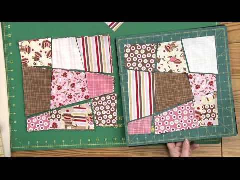 Quilting Quickly: Zoe's Play Day - Wonky Nine-Patch Quilt Pattern