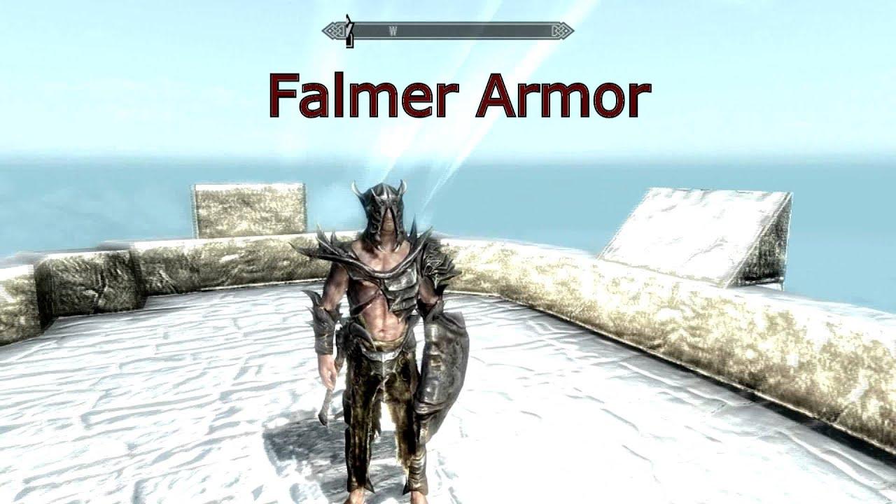 Skyrim Every Armor Hd Textures Youtube