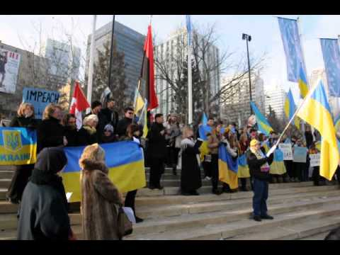 Canadian ukrainians support Ukraine