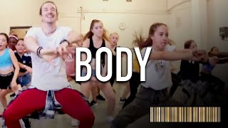 BODY by Loud Luxury | Beginner Dance CHOREOGRAPHY