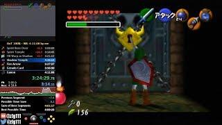 Ocarina of Time 100% Speedrun in 4:10:43
