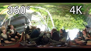 mystery mine 360 front seat on ride 4k pov dollywood