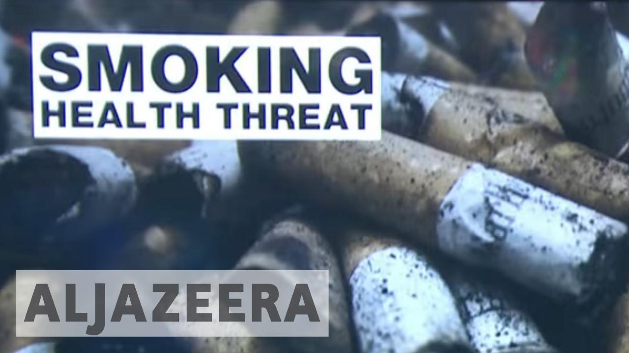 France's AXA group to boycott tobacco