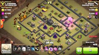 Clash of Clans (Queen Walk com Dg 100% em Th9)