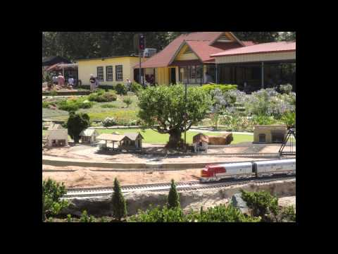 Garden Railroad Trains