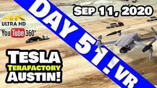 Tesla Giga Texas - RAW 360 VR Footage of Tesla Giga Texas Construction Site! 9/11/20