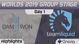 DWG vs TL Highlights Worlds 2019 Main Event Group Stage Damwon Gaming vs Team Liquid by Onivia