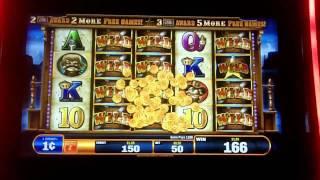 Bally Technologies - Gold Bug The Wild Bunch Slot Bonus Huge Win Over 700x