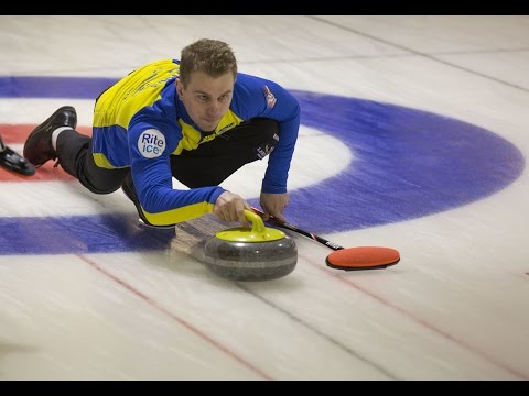 CURLING: DEN-SWE - World Junior Chps 2016 - Men Draw 1