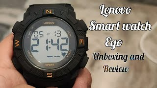 Lenovo Ego Smartwatch Unboxing and Review | Buy at Rs 1,999