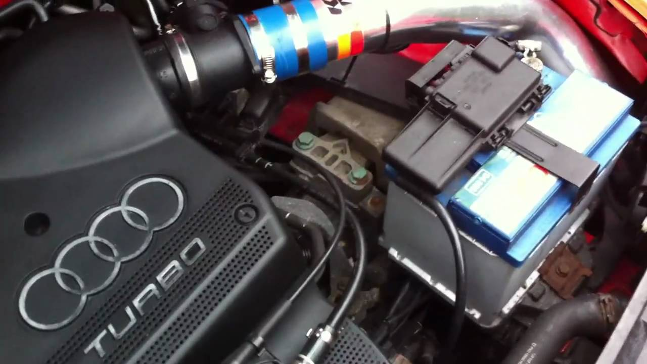 Audi A3 1 8t Induction Sound