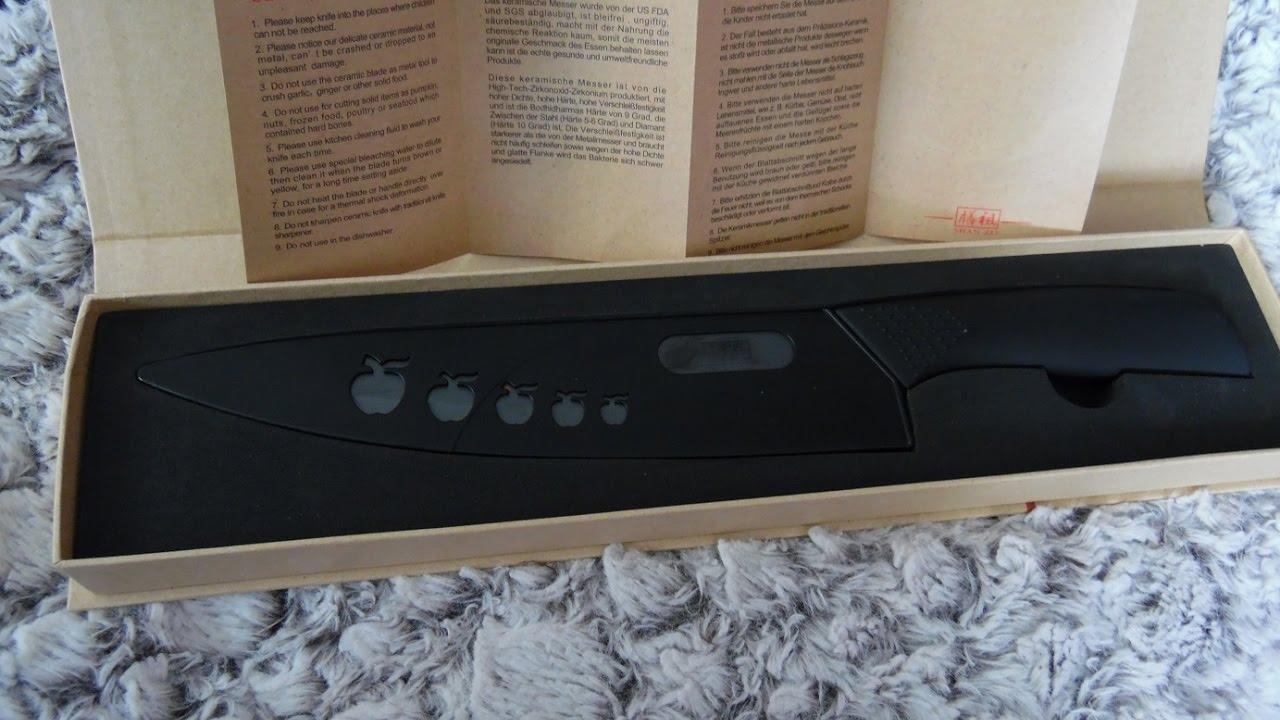 bon couteau de cuisine shan zu en c ramique youtube. Black Bedroom Furniture Sets. Home Design Ideas