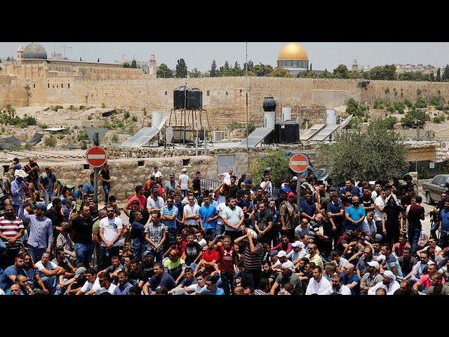 Jerusalem security tightened after violent protests