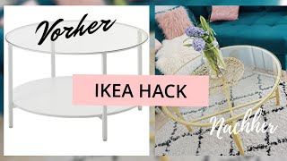 Ikea Hack - Vittsjö | Couchtisch by La Micha