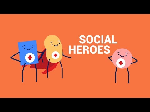 Become An American Red Cross Social Hero!
