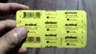 Original Formula Actifed for sale