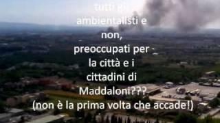 Nube Tossica a Maddaloni-Caserta