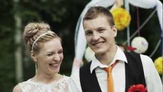 Свадьба в Вологде и Череповце видео выездной регистрации Добрецов  Леонид