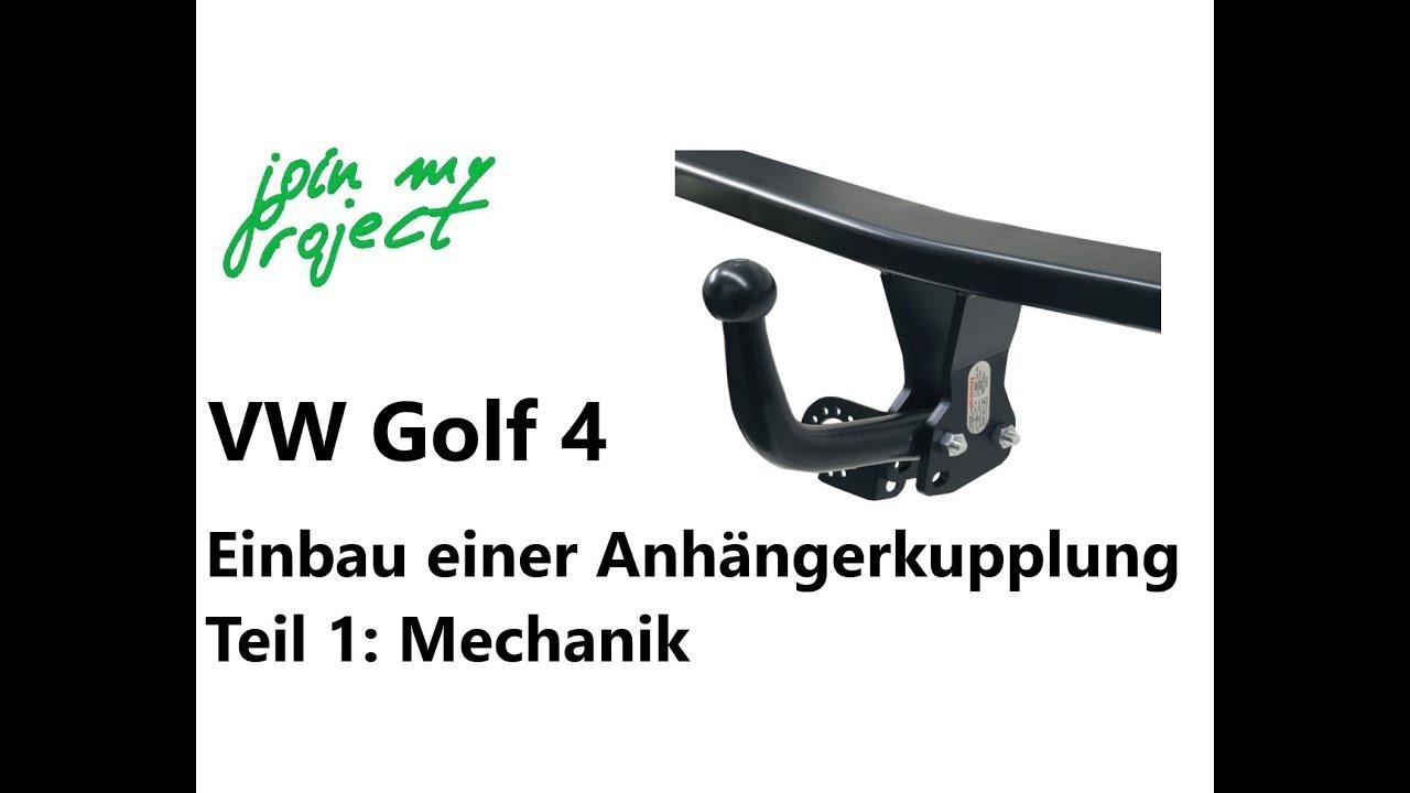anh ngerkupplung am golf 4 nachr sten teil 1 einbau der. Black Bedroom Furniture Sets. Home Design Ideas