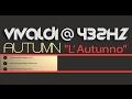 AUTUMN - L' Autunno ? VIVALDI 432Hz ? [Classical Music @ 432Hz ]