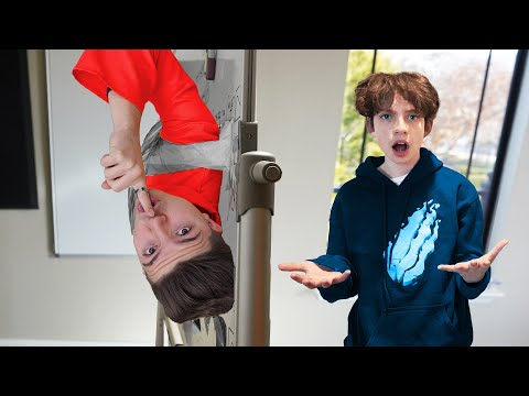 First to Find Preston Wins $1000! - EXTREME Hide & Seek vs Little Brother and Sister