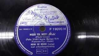Henk de Bruin: Meer en meer. (ca 1955).