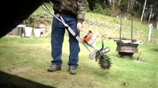 Attachments for chainsaw Lawn Aerator