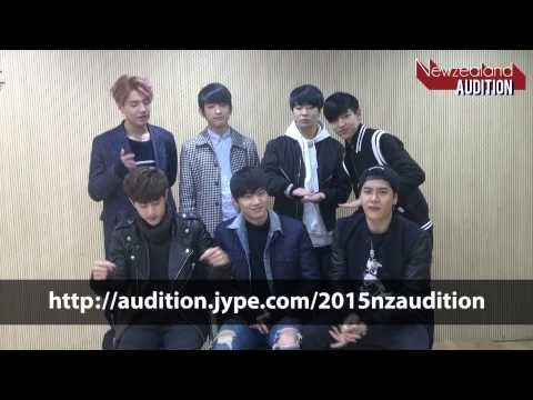 2015 JYP NZ AUDITION from GOT7_ENG