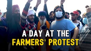 A Day at the Farmers' Protest ft. Samdish