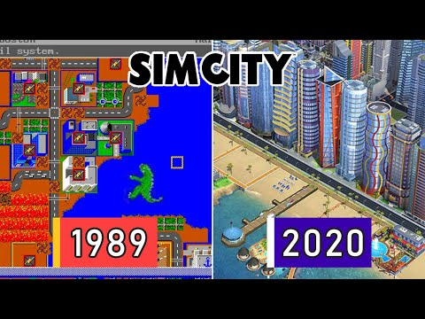Evolution of SimCity Video Games 1989-2014 |