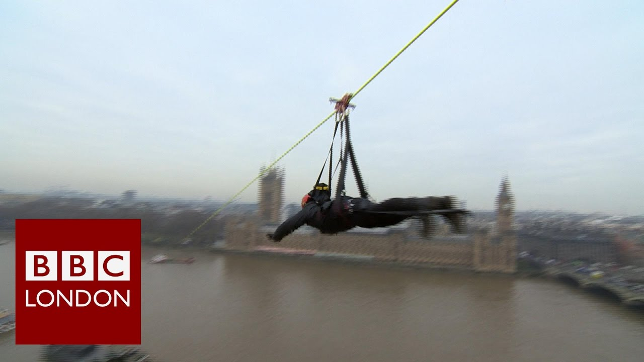zip line across the thames bbc london news youtube transfer money to london from india Wiring Money Western Union
