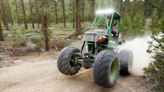 Giant 454 Grave Digger Power Wheels How it Was Built!