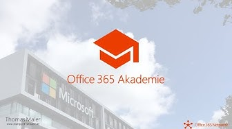 Office 365 Akademie News - Februar 2020