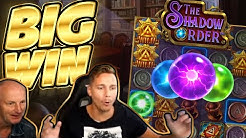 MASSE and DADS BIG WIN!!! Shadow Order BIG WIN - Casino Games played on CasinoDaddys stream