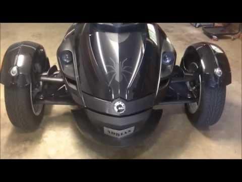 Can am Spyder Wheel alignment