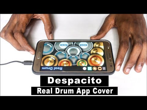 WATCH ON COMPUTER! Despacito - Luis Fonsi  ft. Justin Bieber (Real Drum app Cover)