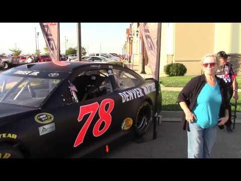 NASCAR # 78 Martin Truex Jr @Vietnam Traveling Wall