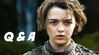 Game Of Thrones Season 4 Q&A Braavos Edition. Arya and The Hound, M...