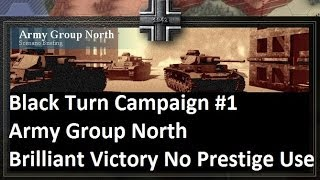 Lets Play: Unity of Command - Black Turn Campaign: Army Group North Brilliant Victory (HD)