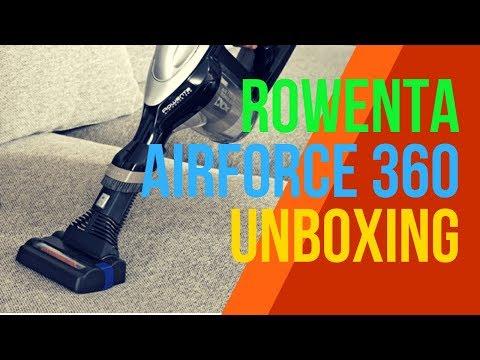 rowenta-air-force-360-akku-staubsauger---unboxing-&-ausprobiert
