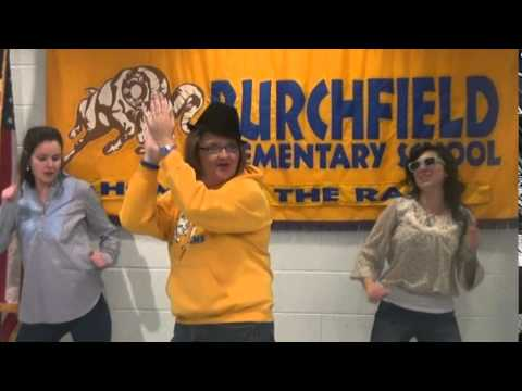HAPPY Holidays - Pharrell Williams - Burchfield Elementary School
