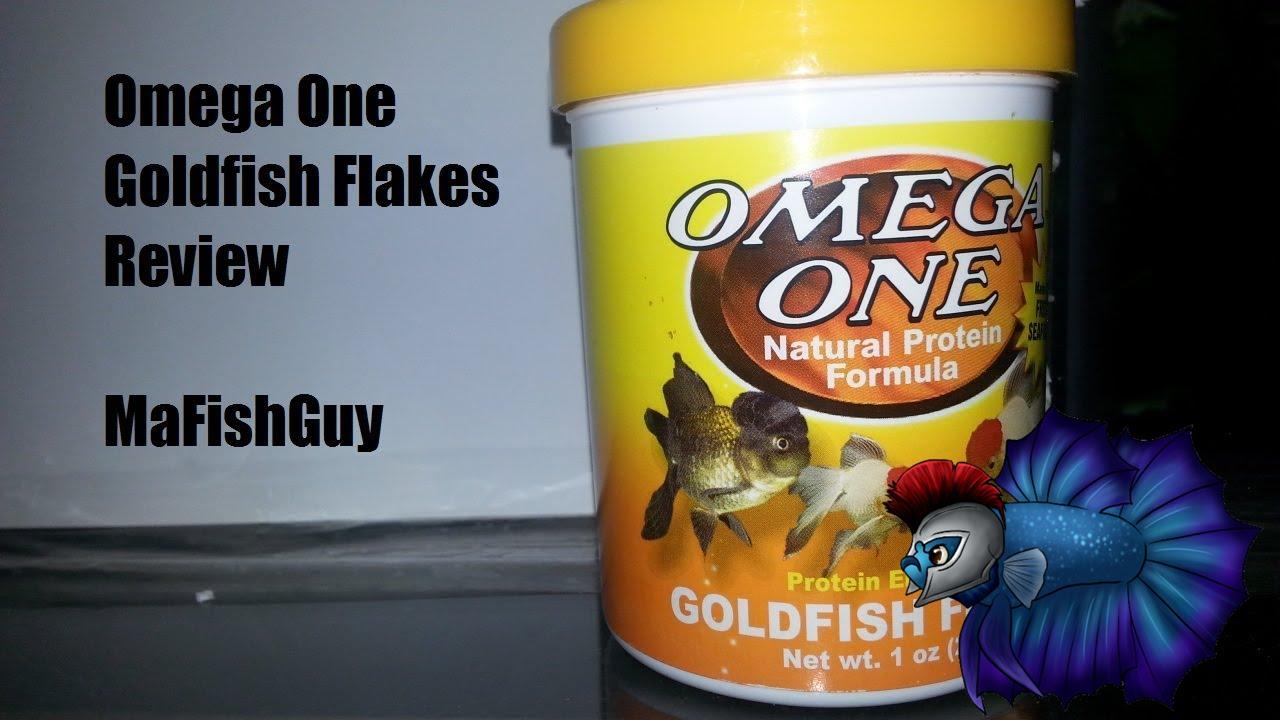 Omega One Goldfish Flake Food Review
