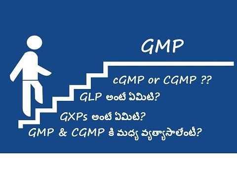 Episode 3 - GMP Vs. CGMP (In Telugu)
