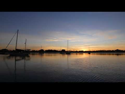 Sunrise In Palm Beach Lumix FZ-80 4K Time Lapse Test