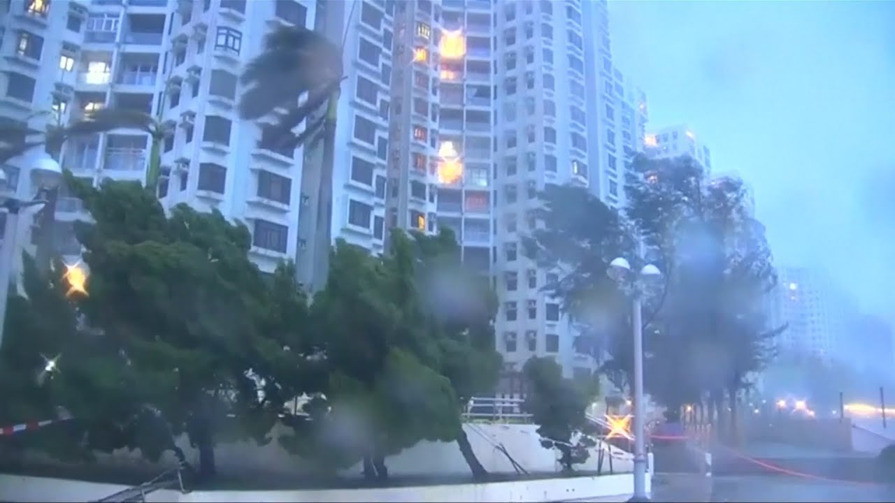 Storm Pakhar hits Hong Kong and Macau days after deadly Hato