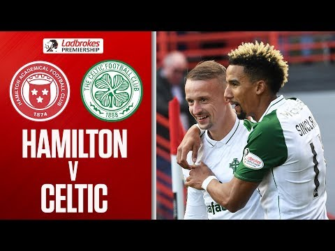 Hamilton 0-3 Celtic | Celtic stay Top After Thrashing Hamilton! | Ladbrokes Premiership