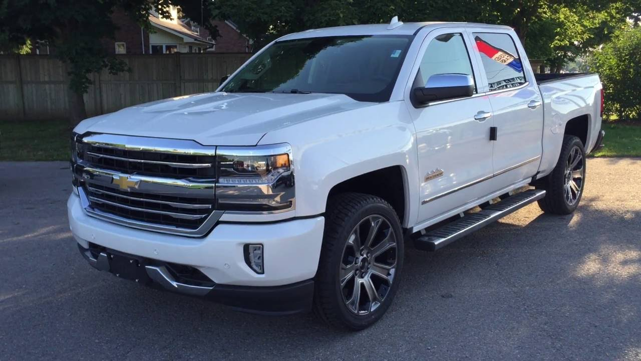 2016 Chevrolet Silverado High Country Iridescent Pearl ...