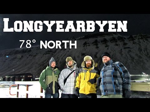 Longyearbyen, Svalbard | Polar Night in the Arctic Circle